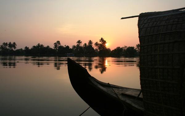 sunset by akhilsah