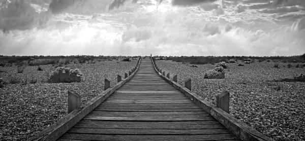 Dungeness Walkway by Jazzyjack