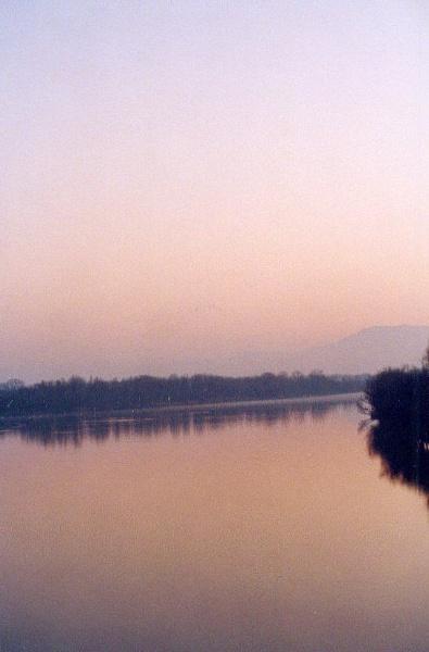 Morning Mist on the River Rhône by SabineFaureSAMlle