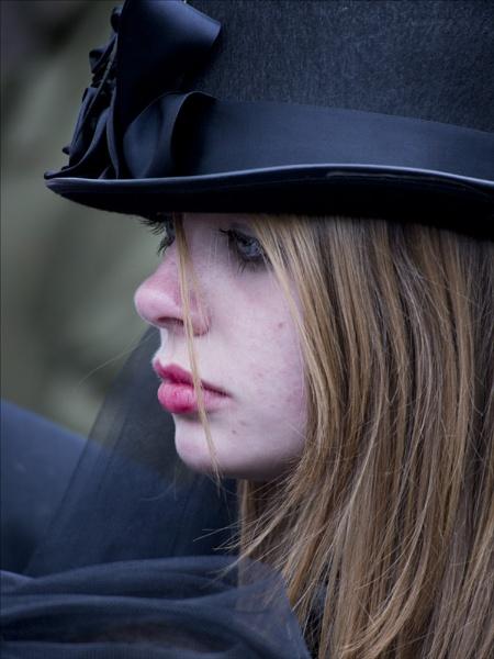 Lipstick Goth by maggietear