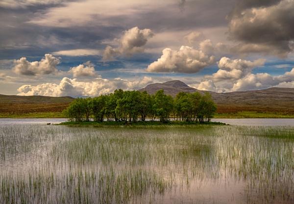 Island, Loch Awe, Assynt, Scotland. by Colin_Leslie