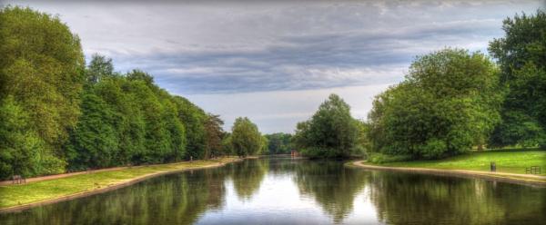 Verulamium park lake by mark2uk
