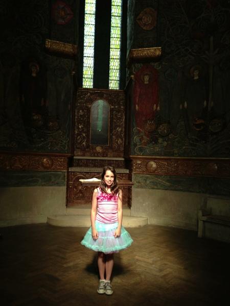 Where she stood by Tusha