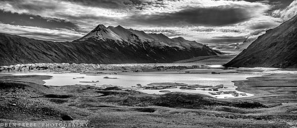 Glacial Landscape II by Scutter