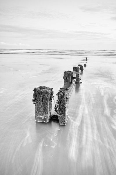 Youghal Strand in B&W by jholmes