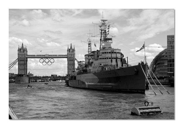 HMS Belfast by heffalump