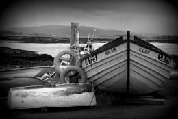 Boats at Kilchoan Jetty