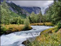 Briksdalsbreen Glacier Norway