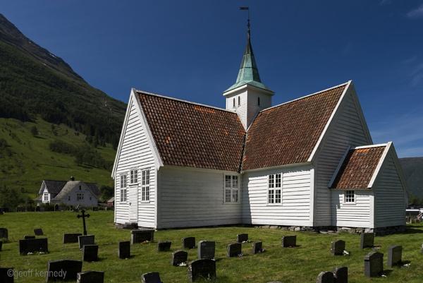 Olden Church by geffers7