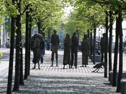 statues in dublin