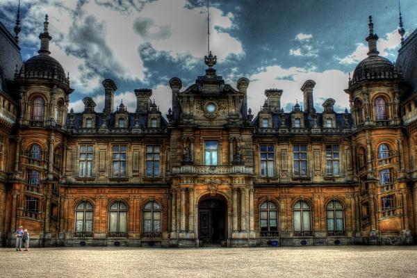 Waddesdon Manor HDR by Simon_Marlow