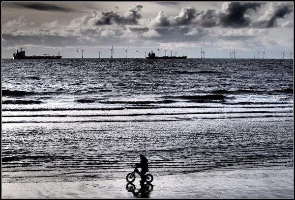Boy on a Bike. by Gab