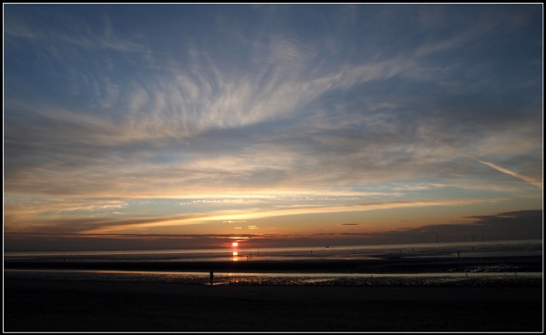 Sunset in Crosby. by Gab