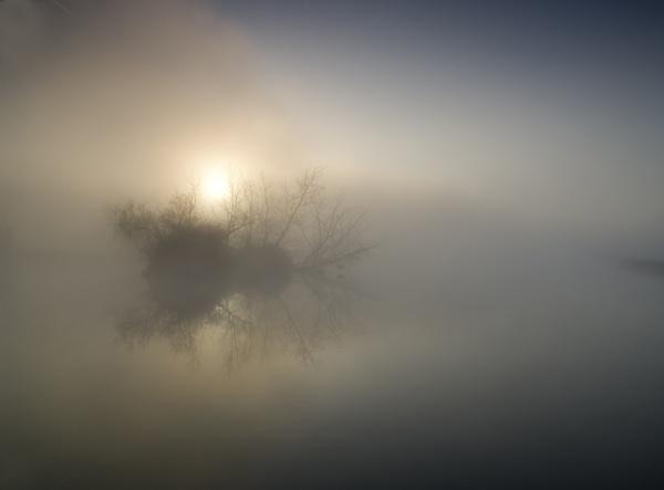 Sunrise Mapledurham reach river Thames by jimhellier