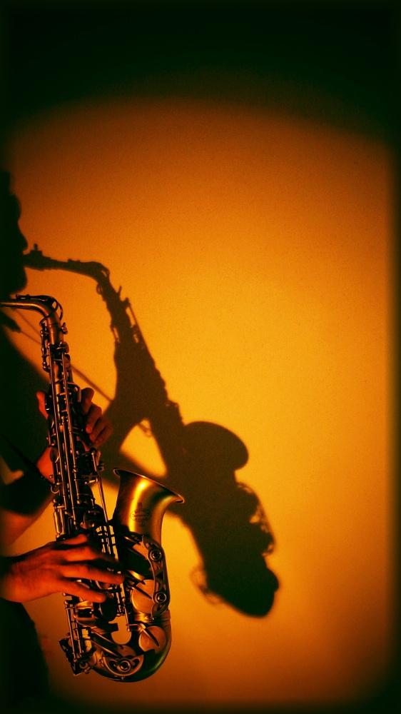 Открытки, открытки мужчина с саксофоном