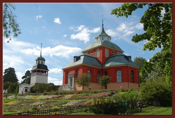 Ulrika Eleonora Church by minamahal
