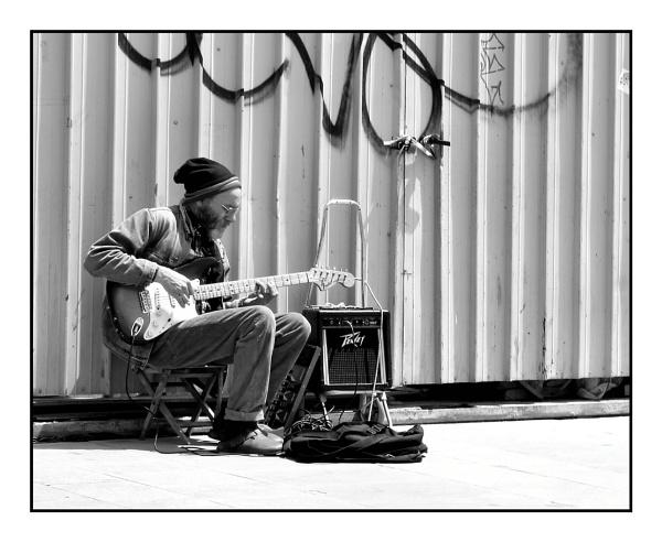 Street Guitar by alistairfarrugia