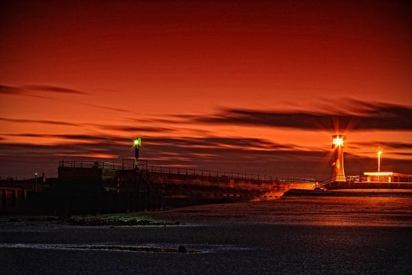 Littlehampton - seaside by night by gaborfoto