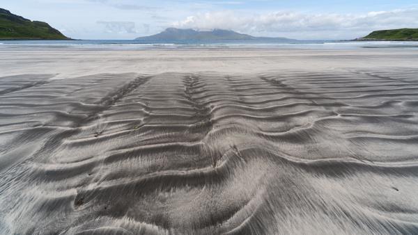Eigg Beach towards Rum by ARodders