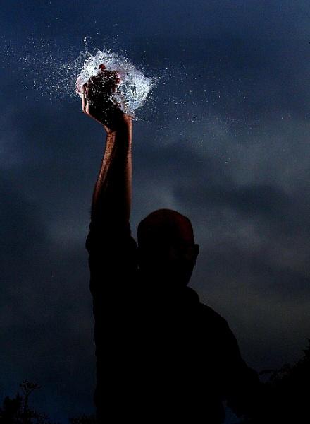 Ball lightning by turniptowers