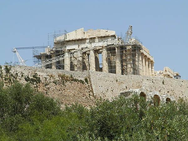 Rebuilding Parthenon! by digitalgirl