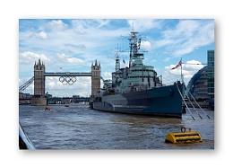 HMS Belfast - in colour