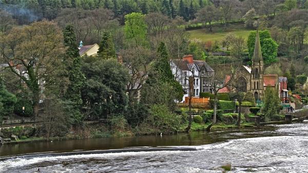 Llangollen Riverside by altosaxman