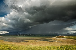 Storm Cloud over Magheroarty, Co. Donegal Ireland