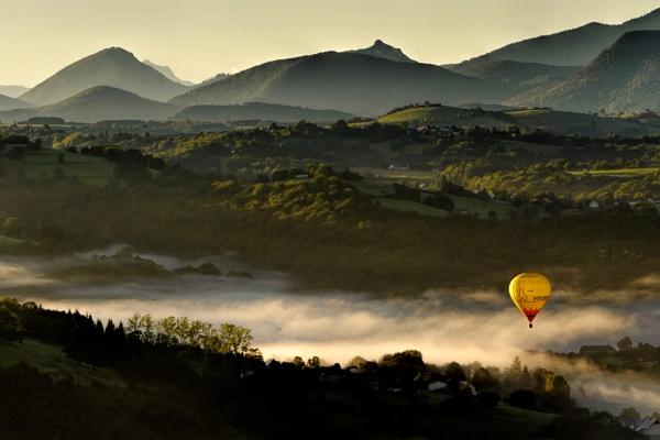 Morning Balloon by Escaladieu