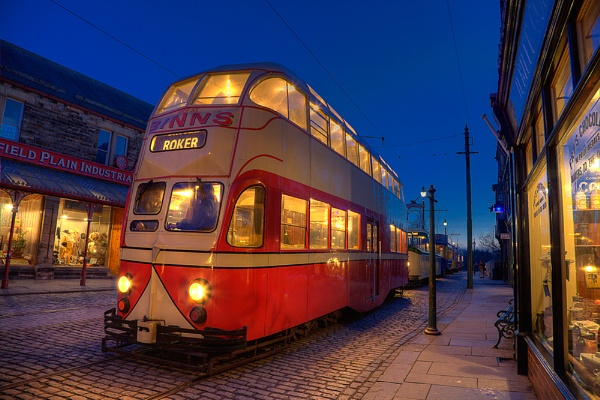 Evening Light at Beamish by stevenb