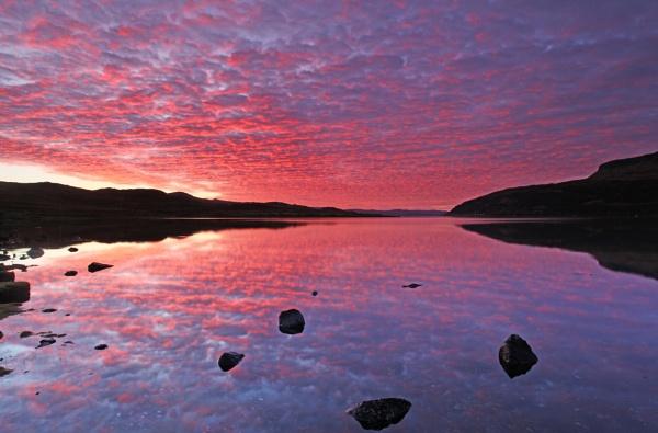 Loch Slapin, Isle of Skye by pink