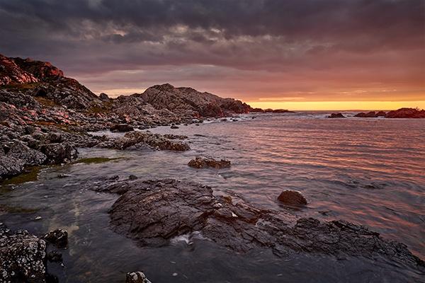 Iona Sunset by KMRennie