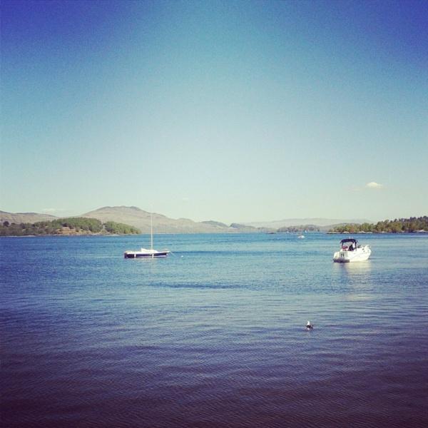 Loch Lomond - Luss by clydesnaps