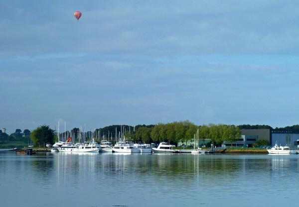 Estuary at Vannes by JuBarney