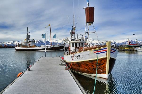 Husavik Harbour by tony_hoops