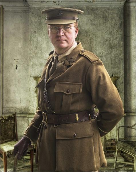 Officer , Norfolk Regiment by Scippy