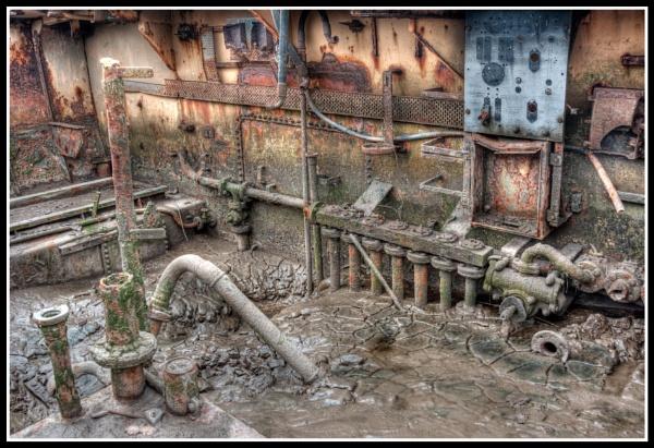 Fleetwood Marsh - Inside Wreck - 2013.06.29 by Westroyd08