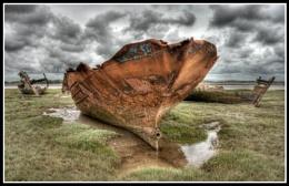 Fleetwood Marsh Wrecks - 2013.06.29
