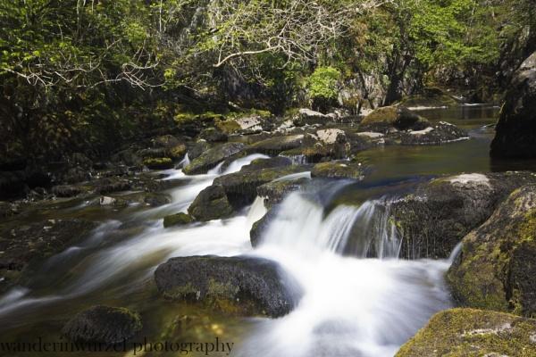 ingleton waterfalls 2 by wanderinwurzel
