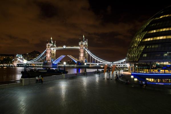 Tower Bridge - open by StuartAt