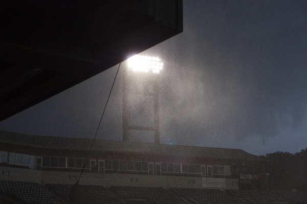 Thunderstorm at the stadion by lionking