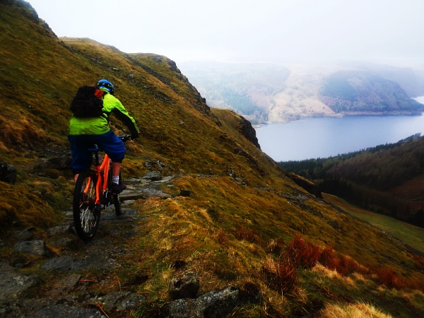 Lakes Mountain bike by george-sewell