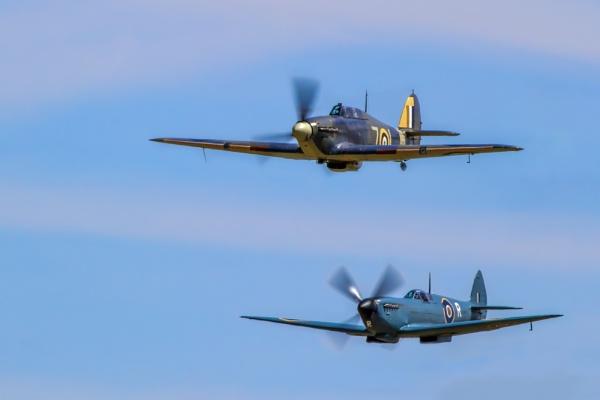 Hurricane & Spitfire by Mackem