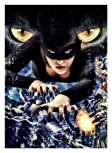 Catwoman comes crawing back ... by cyman1964uk