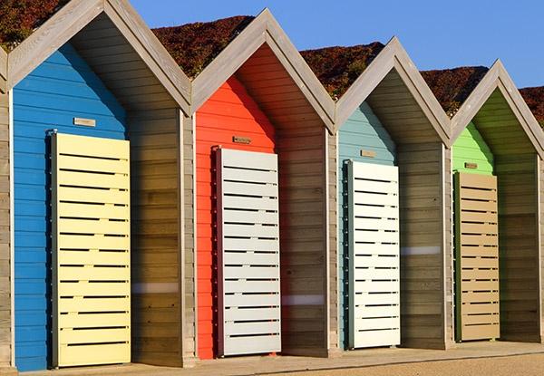 Beach Huts by staituk