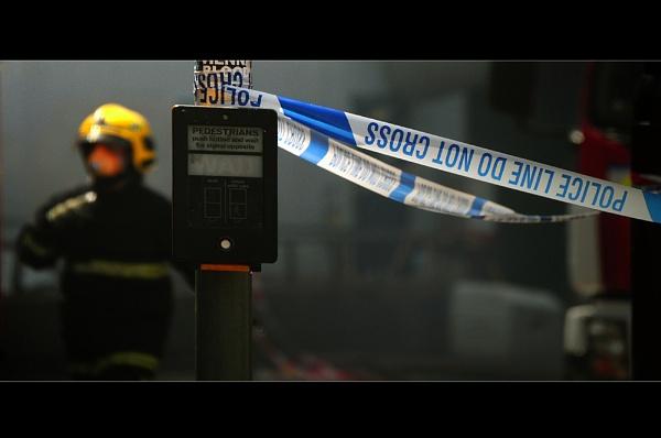 Manchester Fire... by woodlark
