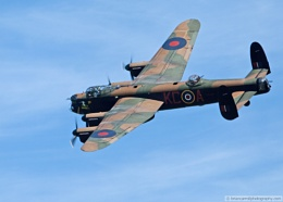 Avro Lancaster at Shuttleworth Military Pageant Air Show