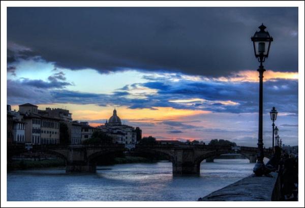 Florentine Sunset by alistairfarrugia
