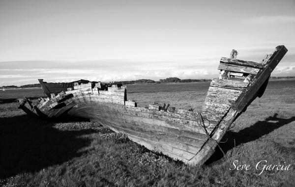 Marsh Wreck by SeveGarcia