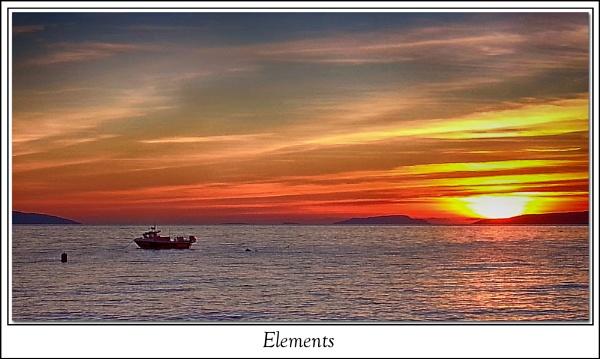 Sunset in Scotland by Precious_Eli